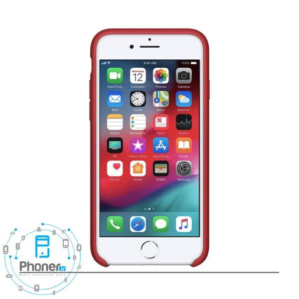 نمای روبرو قاب محافظ Apple SCAIP78 Silicone Case