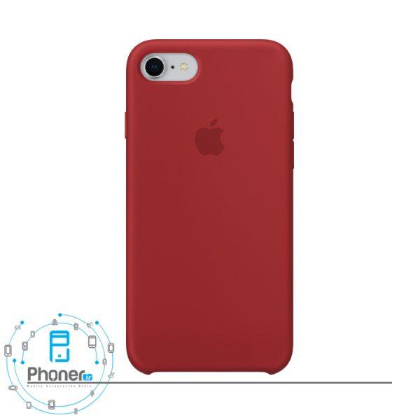 رنگ قرمز تیره قاب محافظ Apple SCAIP78 Silicone Case