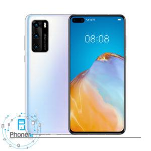 رنگ سفید گوشی موبایل Huawei P40