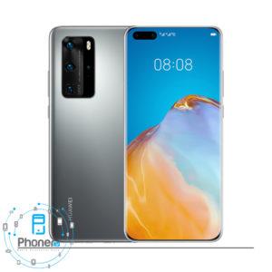 رنگ نقره ای گوشی موبایل Huawei P40 Pro