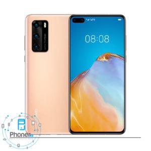 رنگ طلایی گوشی موبایل Huawei P40