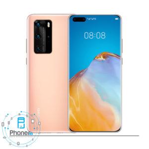 رنگ طلایی گوشی موبایل Huawei P40 Pro