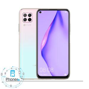 رنگ سفید گوشی موبایل Huawei P40 lite