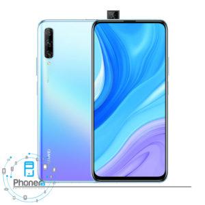 رنگ آبی گوشی موبایل Huawei Y9S