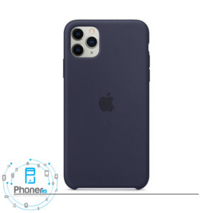 رنگ Midnight Blue قاب گوشی Apple SCAIP11P Silicone Case