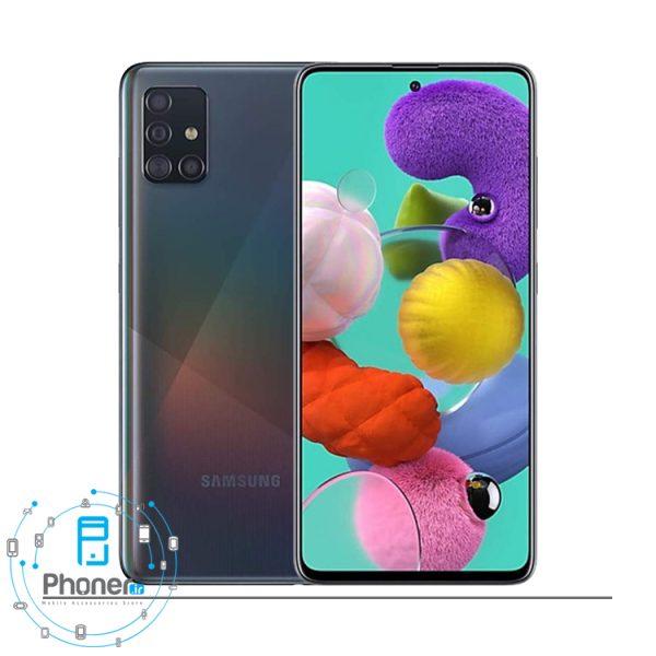 رنگ مشکی گوشی Samsung Galaxy A51