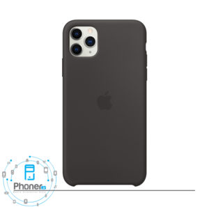 رنگ Black قاب گوشی Apple SCAIP11PM Silicone Case