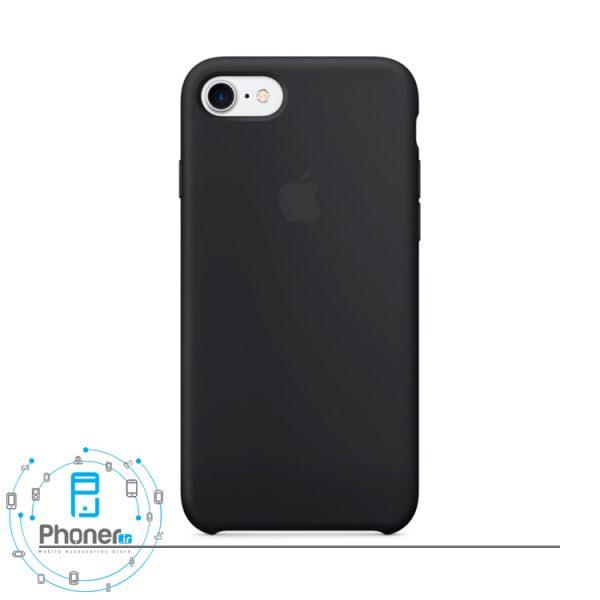 رنگ Black قاب محافظ Apple SCAIP78 Silicone Case