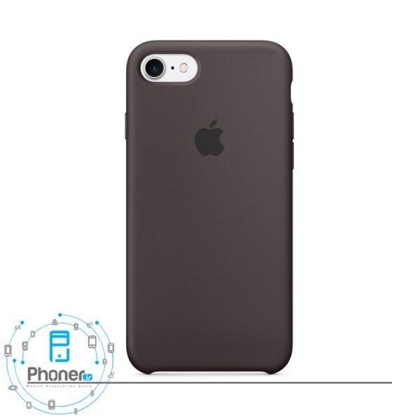رنگ Cocoa قاب محافظ Apple SCAIP78 Silicone Case