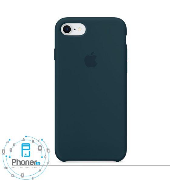 رنگ Cosmos Blue قاب محافظ Apple SCAIP78 Silicone Case