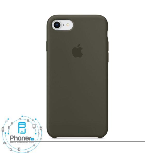 رنگ Dark Olive قاب محافظ Apple SCAIP78 Silicone Case