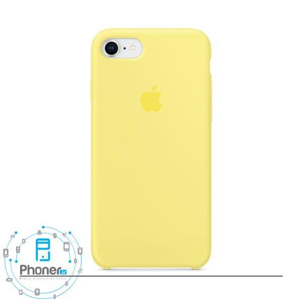رنگ Lemonade قاب محافظ Apple SCAIP78 Silicone Case