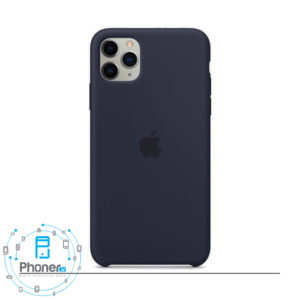 رنگ Midnight قاب گوشی Apple SCAIP11PM Silicone Case