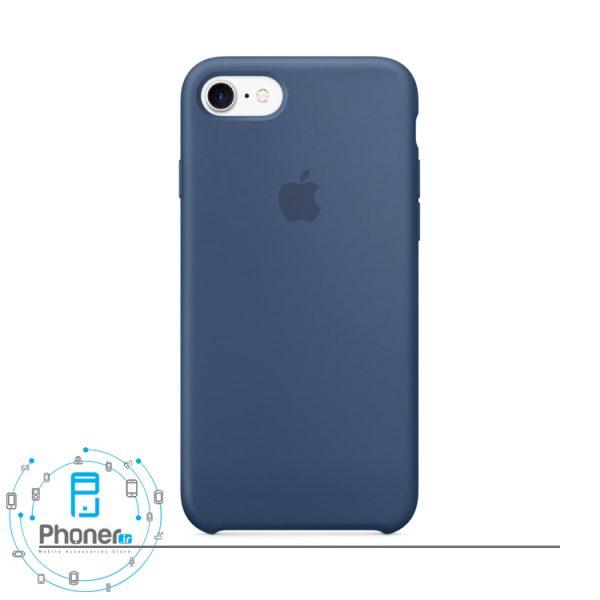 رنگ Ocean Blue قاب محافظ Apple SCAIP78 Silicone Case