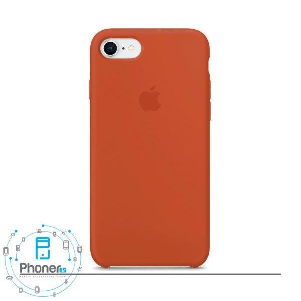 رنگ Orange قاب محافظ Apple SCAIP78 Silicone Case