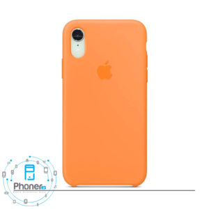 رنگ Papaya قاب گوشی Apple SCAIPXR Silicone Case