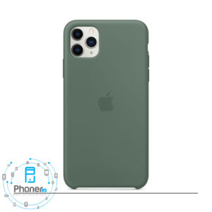 رنگ Pine Green قاب گوشی Apple SCAIP11PM Silicone Case