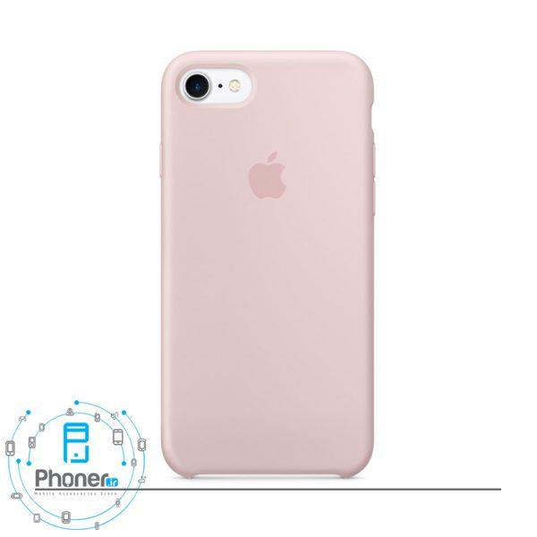 رنگ Pink Sand قاب محافظ Apple SCAIP78 Silicone Case