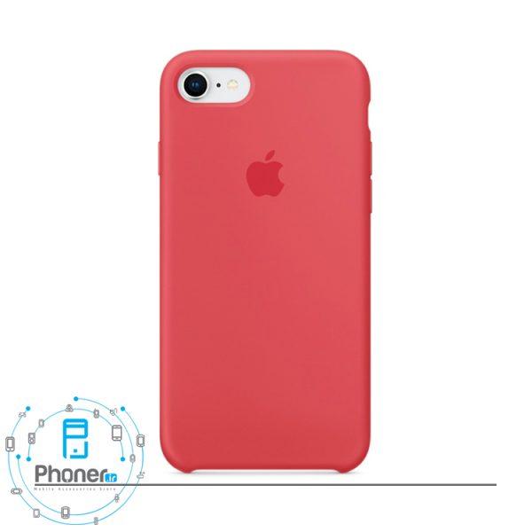 رنگ Red Raspberry قاب محافظ Apple SCAIP78 Silicone Case