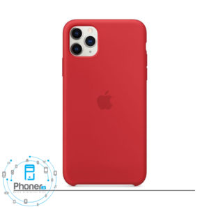 رنگ Red قاب گوشی Apple SCAIP11PM Silicone Case