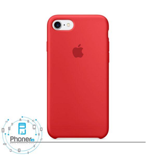 رنگ Red قاب محافظ Apple SCAIP78 Silicone Case
