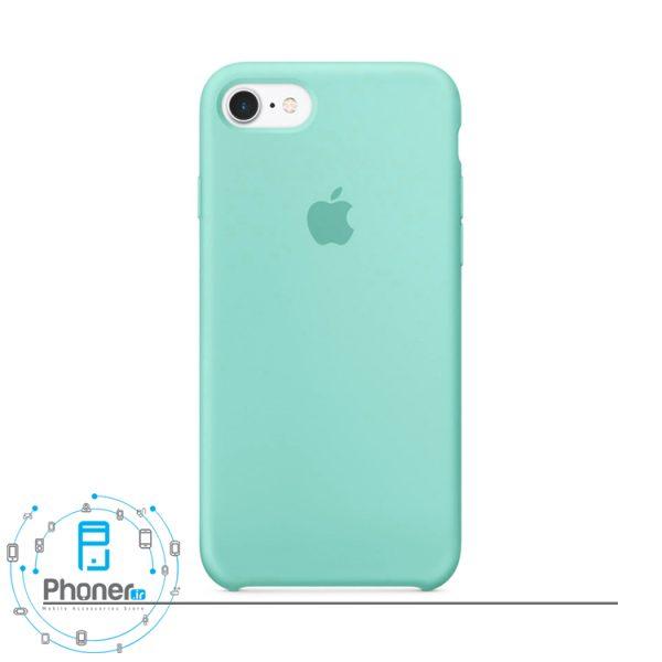 رنگ Sea Blue قاب محافظ Apple SCAIP78 Silicone Case