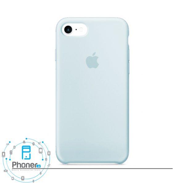 رنگ Sky Blue قاب محافظ Apple SCAIP78 Silicone Case