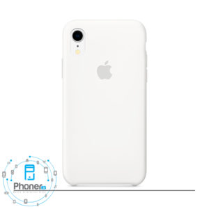 رنگ White قاب گوشی Apple SCAIPXR Silicone Case