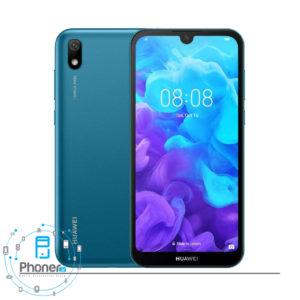 رنگ آبی گوشی موبایل Huawei AMN-LX9 Y5 2019