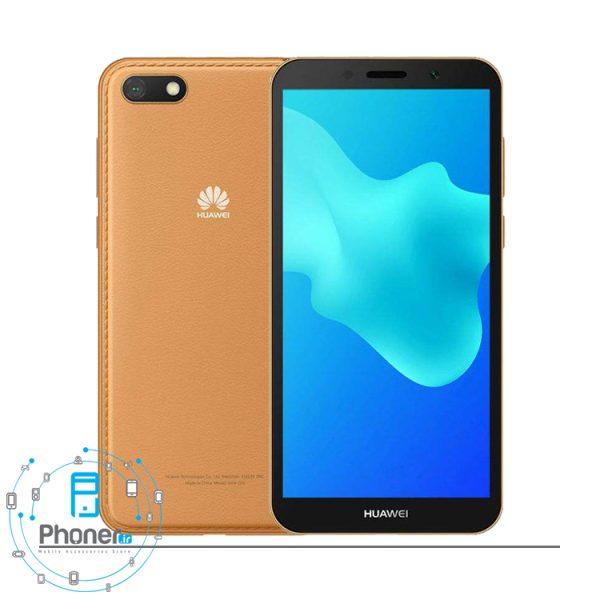 رنگ قهوه ای گوشی موبایل Huawei DRA-LX5 Y5 lite 2018
