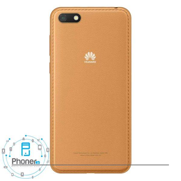 قاب پشتی گوشی موبایل Huawei DRA-LX5 Y5 lite 2018 رنگ قهوه ای