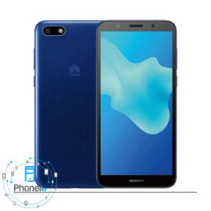 رنگ آبی صفحه نمایش گوشی موبایل Huawei DRA-LX5 Y5 lite 2018