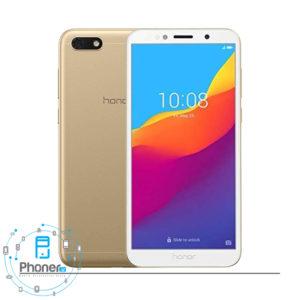 رنگ طلایی گوشی موبایل Huawei DUA-L22 Honor 7S