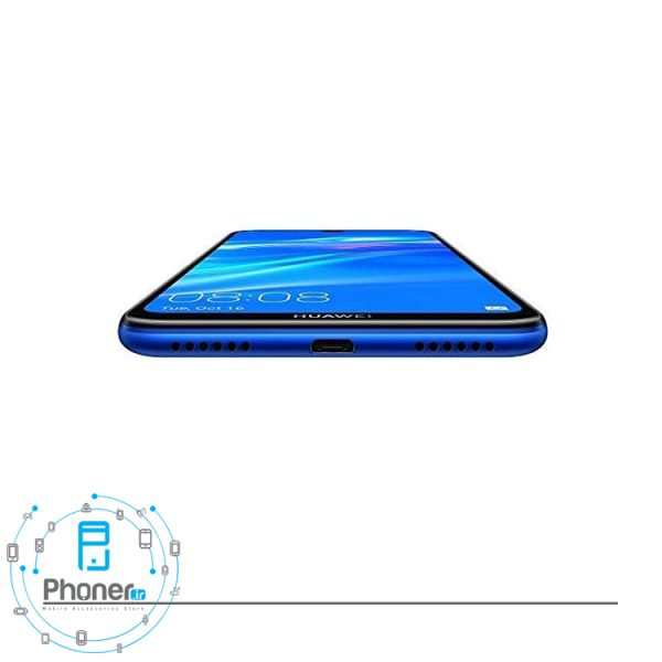 نمای پایینی گوشی موبایل Huawei DUB-LX1 Y7 Prime 2019