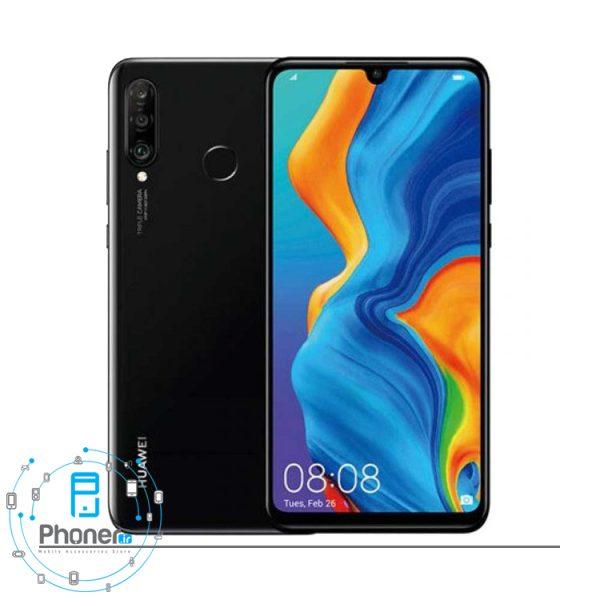 رنگ مشکی گوشی موبایل Huawei MAR-LX1A P30 Lite