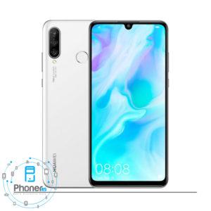 رنگ سفید گوشی موبایل Huawei MAR-LX1A P30 Lite