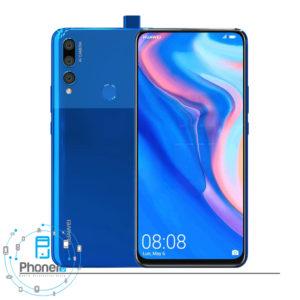 رنگ آبی گوشی موبایل Huawei STK-L21 Y9 Prime 2019