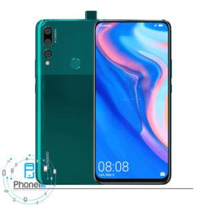 رنگ سبز گوشی موبایل Huawei STK-L21 Y9 Prime 2019