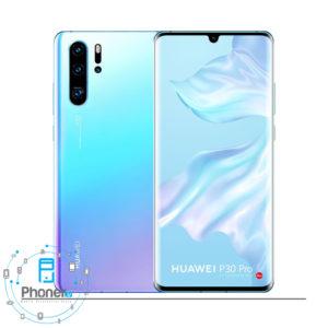 رنگ سفید یخی گوشی موبایل Huawei VOG-L29 P30 Pro