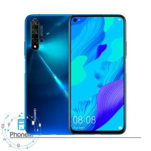 رنگ آبی گوشی موبایل Huawei YAL-L21 Nova 5T