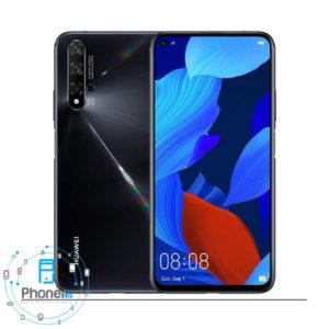 رنگ مشکی گوشی موبایل Huawei YAL-L21 Nova 5T