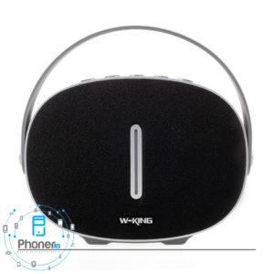 رنگ مشکی اسپیکر بلوتوثی W-King T6 Intelligent Bluetooth Speaker