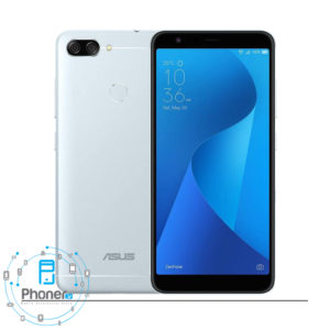 رنگ نقره ای گوشی موبایل ASUS ZB570TL Zenfone Max Plus M1