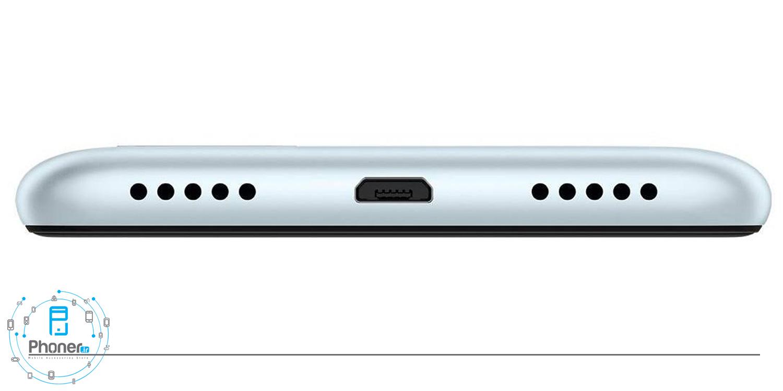 نمای پایین گوشی موبایل ASUS ZB570TL Zenfone Max Plus M1