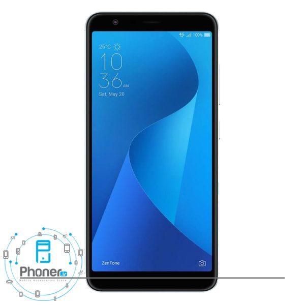 صفحه نمایش گوشی موبایل ASUS ZB570TL Zenfone Max Plus M1 رنگ نقره ای