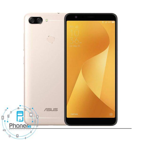 رنگ طلایی گوشی موبایل ASUS ZB570TL Zenfone Max Plus M1