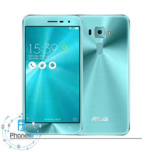 رنگ سبز گوشی موبایل ASUS ZE552KL Zenfone 3