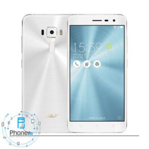 رنگ سفید گوشی موبایل ASUS ZE552KL Zenfone 3