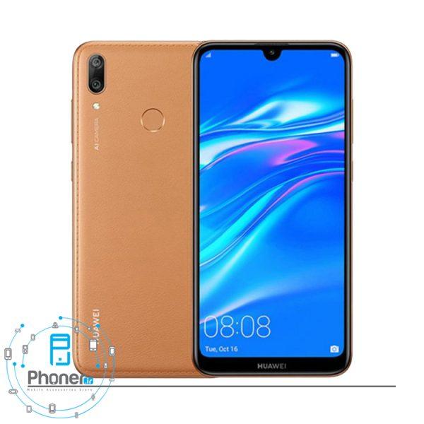 رنگ قهوه ای گوشی موبایل Huawei DUB-LX1 Y7 Prime 2019