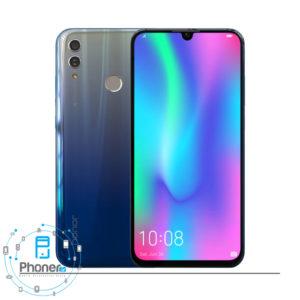 رنگ آبی آسمانی گوشی موبایل Huawei HRY-LX1 Honor 10 Lite